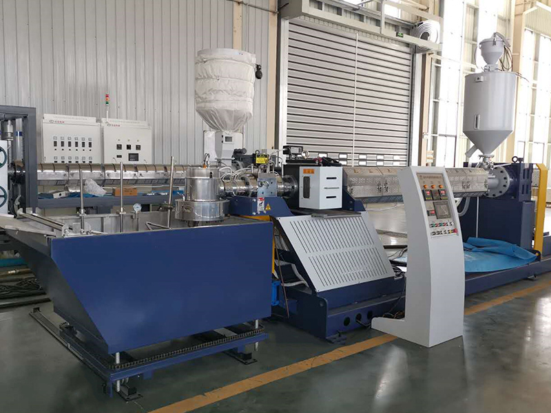 Flat Monofilament Extruding Machine